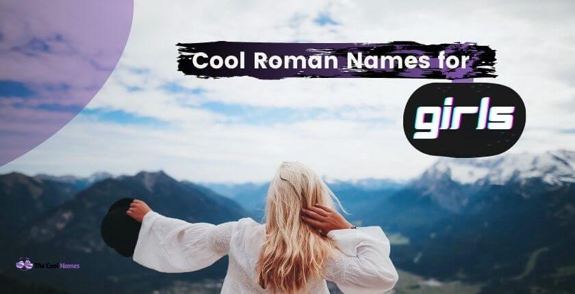 Roman Names for Girls