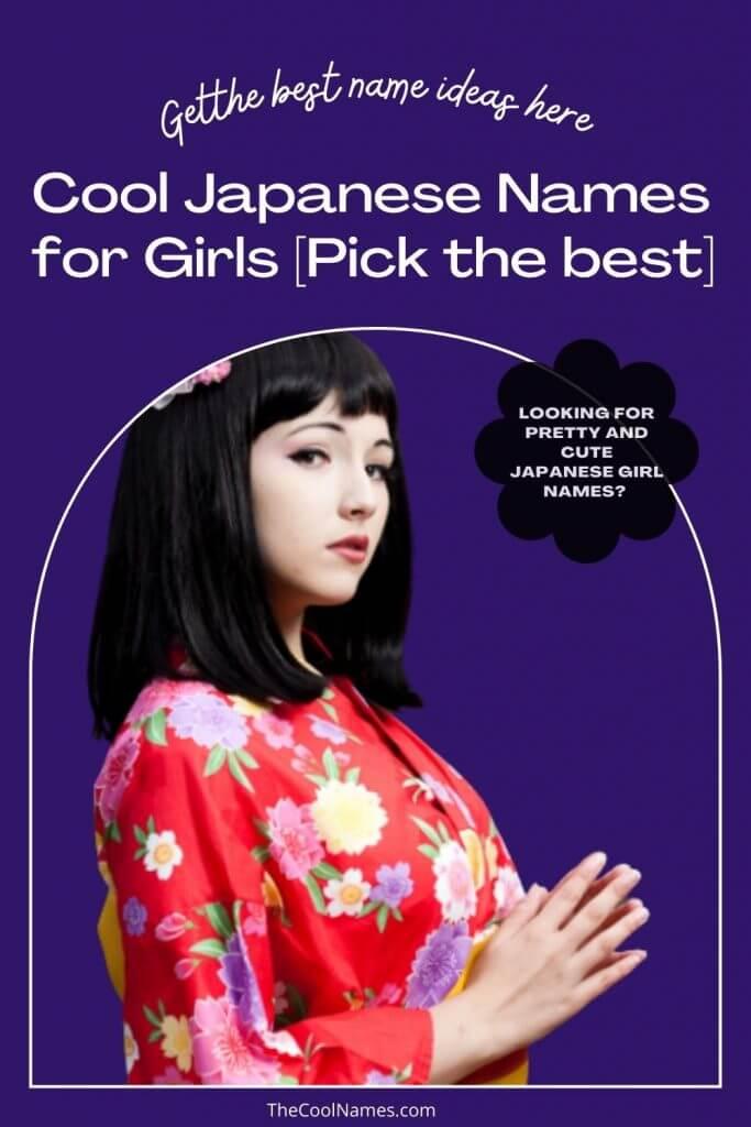 Best Japanese Girl Names