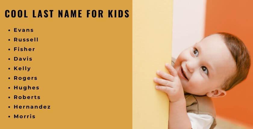 Last Name for Kids
