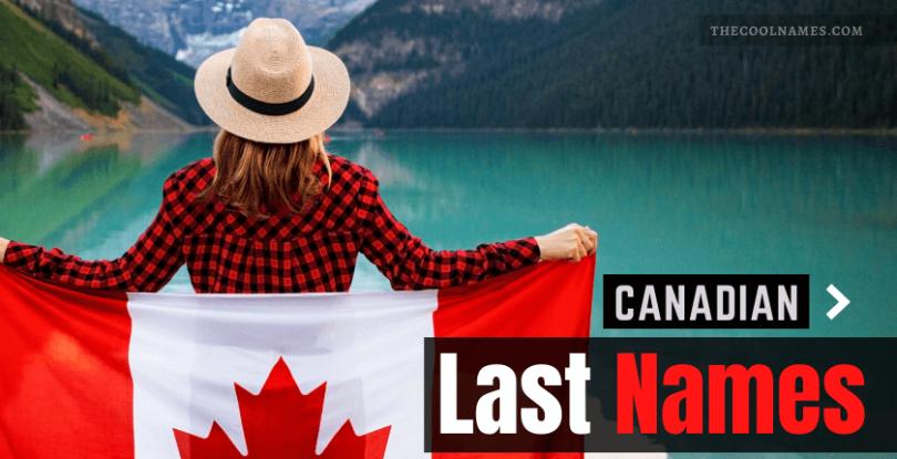 Canadian Last Names